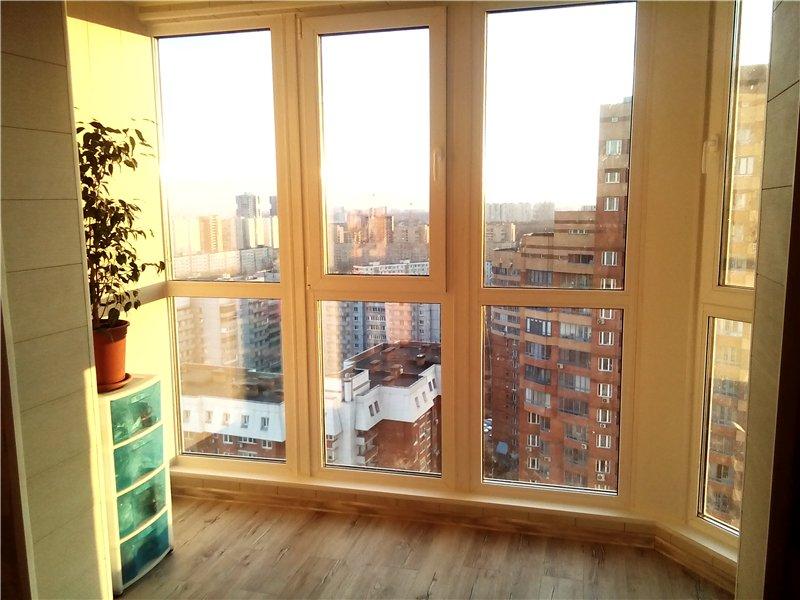 Французское остекление: окна и балконы.