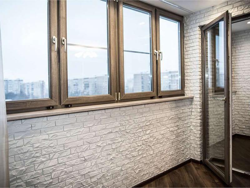 Отделка балконов и лоджий фото