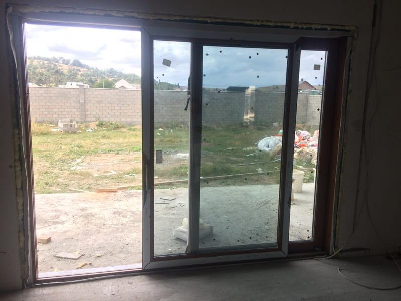Фасадное остекление дома под ключ