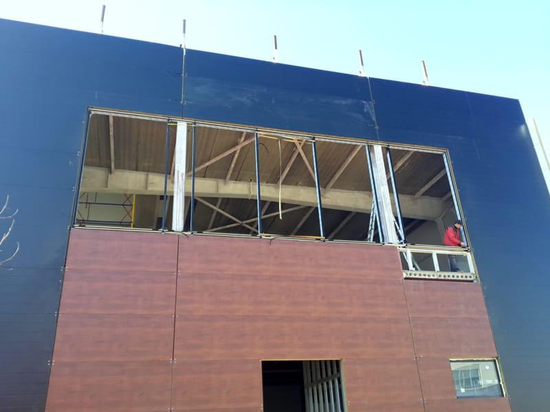 Фасадное остекление здания фото