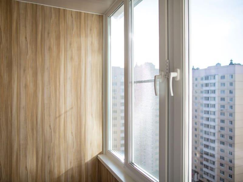 Остекление лоджий окнами ПВХ под ключ