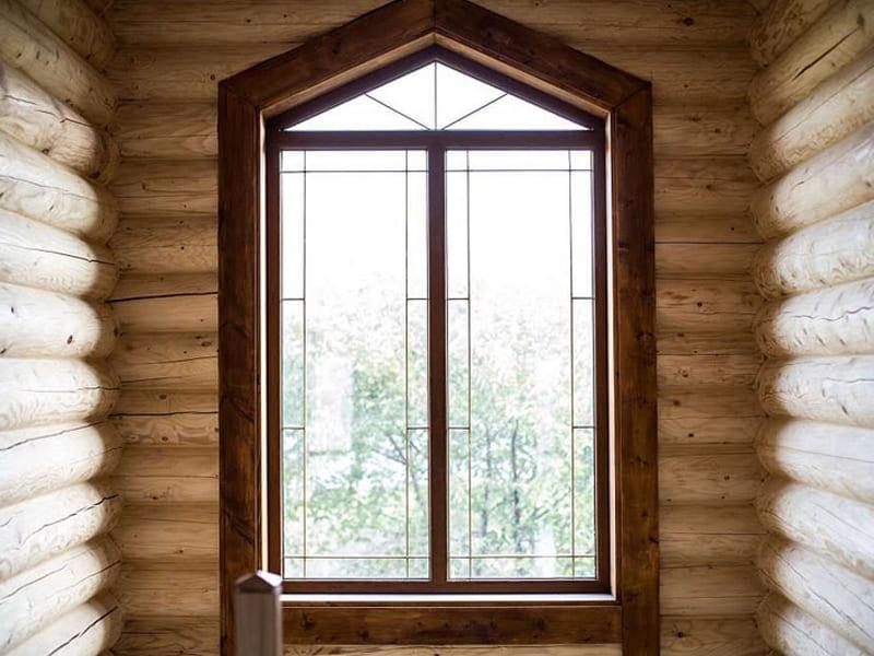 Купить нестандартное окно ПВХ с установкой